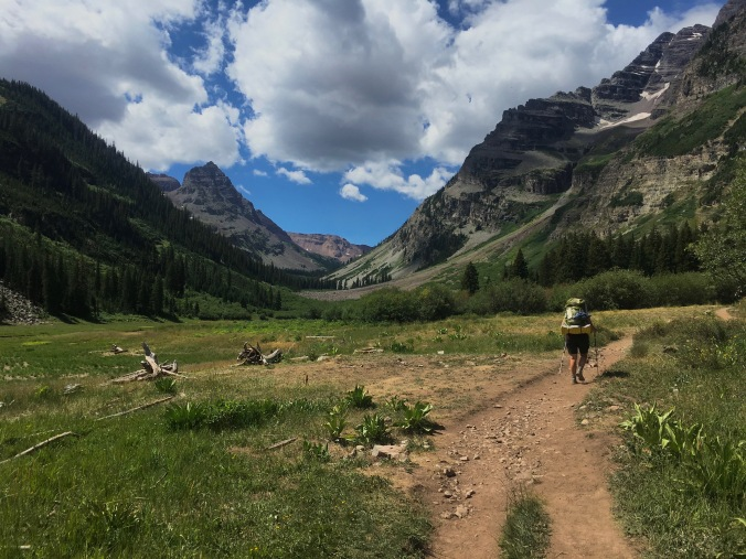 Maroon Bells – Four Pass Loop, Day 1: No Passing Zone | BIT