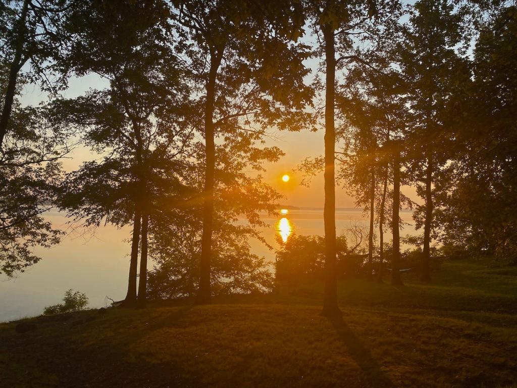Sunrise over Barkley Lake